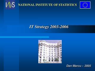 IT Strategy  2003-2006