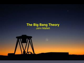 The Big Bang Theory John Mallett