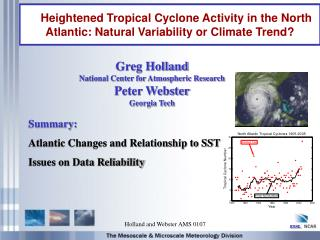 Heightened Tropical Cyclone Activity in the North Atlantic: Natural Variability or Climate Trend