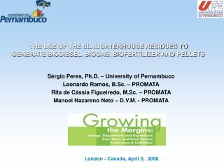 London - Canada, April 3,  2008