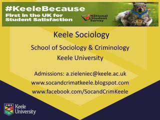 Keele Sociology