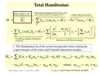 Total Hamiltonian
