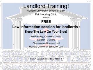 Landlord Training