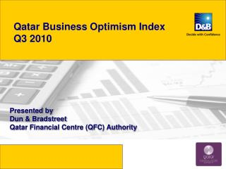 Qatar Business Optimism Index   Q3 2010