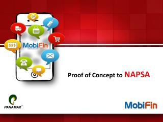 Proof of Concept to  NAPSA