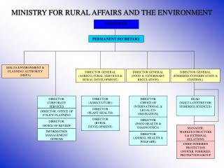 MINISTRY FOR RURAL AFFAIRS AND THE ENVIRONMENT