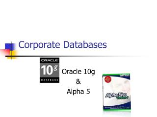 Corporate Databases