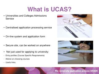 What is UCAS?