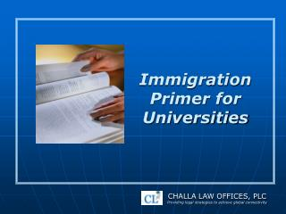 Immigration Primer for Universities