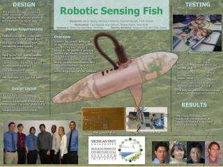 Robotic Sensing Fish