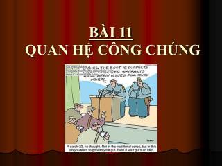B I 11  QUAN H C NG CH NG