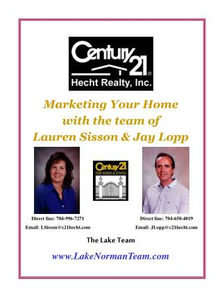 Marketing Your Home  with the team of Lauren Sisson & Jay Lopp