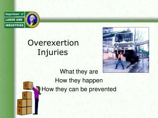 Overexertion Injuries