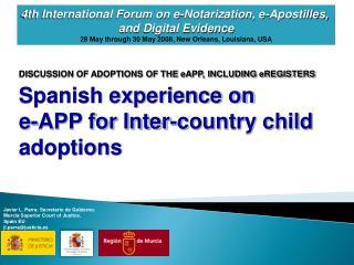 Adoptions of the e-App