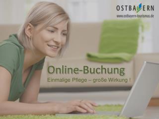 Online-Buchung Einmalige Pflege – große Wirkung !