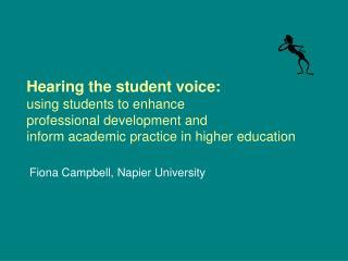 Fiona Campbell , Napier University