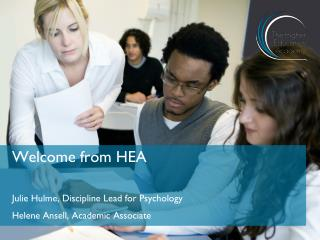 Welcome from HEA