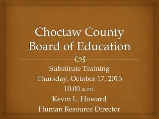 Choctaw County Board of Education