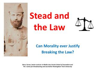 Stead and the Law