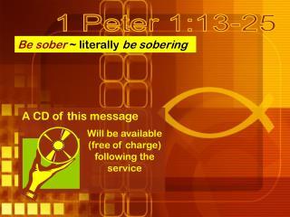 1 Peter 1:13-25