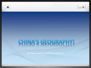 China's Geography!