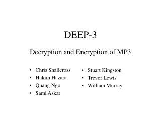 DEEP-3