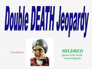 Double DEATH Jeopardy