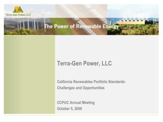 Terra-Gen Power, LLC