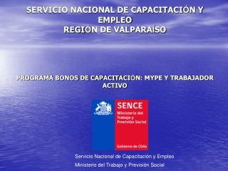 Servicio Nacional de Capacitación y Empleo
