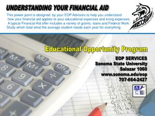 UNDERSTANDING YOUR FINANCIAL AID