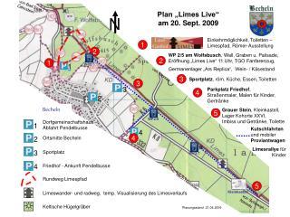 Plan  Limes Live   am 20. Sept. 2009