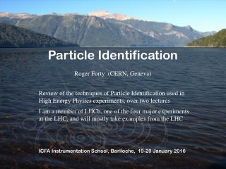 Particle Identification