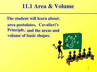 11.1 Area & Volume