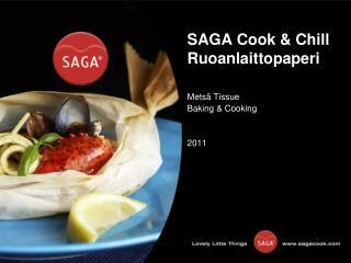 SAGA Cook & Chill Ruoanlaittopaperi