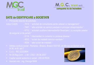 M. G. C. trust  s.r.l.