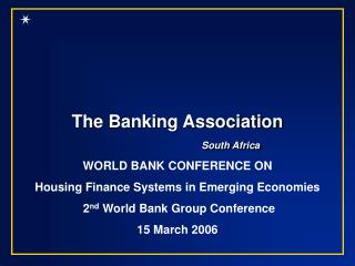The Banking Association South Africa