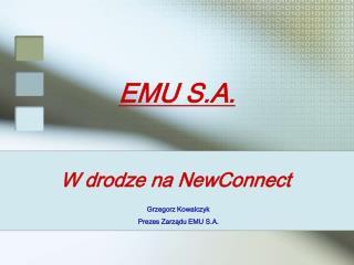 EMU S.A.