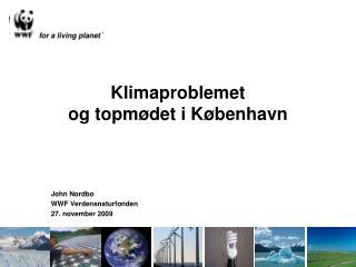 Klimaproblemet  og topmødet i København