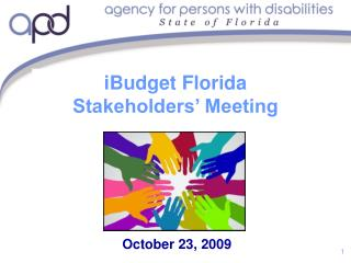 iBudget Florida Stakeholders' Meeting
