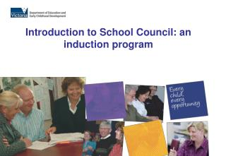 Introduction to School Council: an induction program