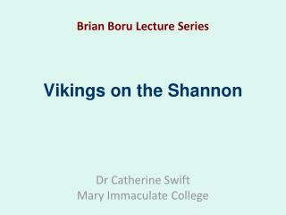 Vikings on the Shannon