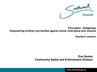 Eva Gomez Community Safety and Enforcement Division