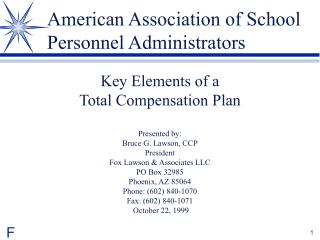American Association of School Personnel Administrators