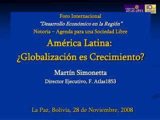 La Paz, Bolivia, 28 de Noviembre, 2008