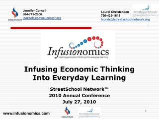 Infusing Economic Thinking  Into Everyday Learning