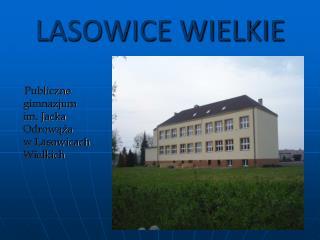 LASOWICE WIELKIE