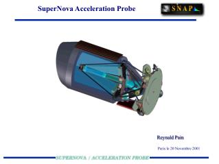 SuperNova Acceleration Probe
