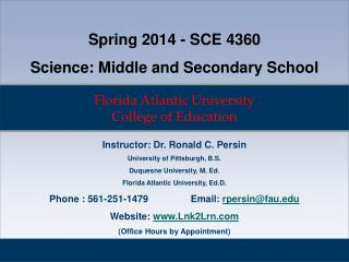 Florida Atlantic University College of Education