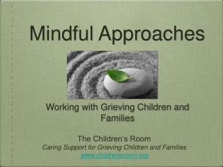 Mindful Approaches