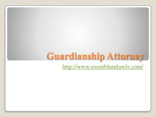 Best Guardianship Attorney